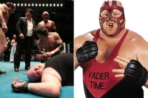 Wrestling Legend Slumps In The Ring After Falling On His Head During Live Show. Photos